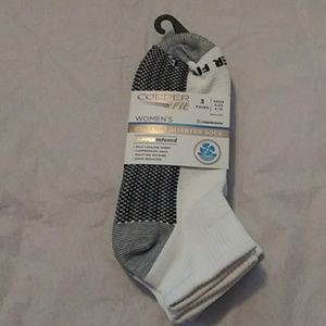 Copper fit 3pk socks